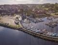 Hjarbæk havn panorama 2a